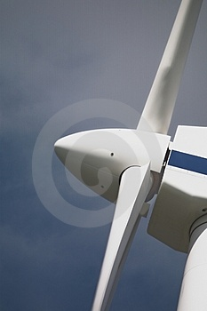 Wind turbine 1 Royalty Free Stock Photography