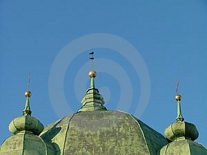 Russian Orthodox Church Free Stock Photography