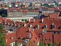 Panorama of Prague Royalty Free Stock Images