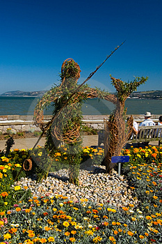 Garden Sculpture Royalty Free Stock Photography - Image: 1307777
