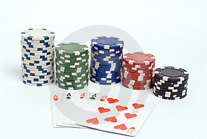 Poker Stock Image - Image: 1308611