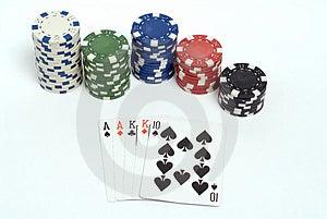 Poker Stock Photo - Image: 1308640
