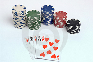 Poker Royalty Free Stock Photo - Image: 1308645