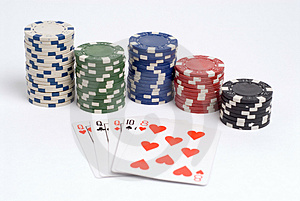 Poker Royalty Free Stock Photo - Image: 1308655