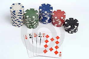 Poker Royalty Free Stock Image - Image: 1308676