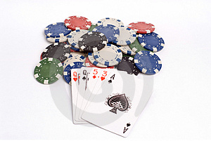 Poker Royalty Free Stock Image - Image: 1308746