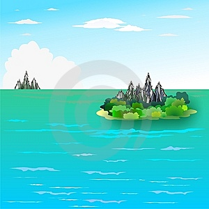 Island Royalty Free Stock Photo - Image: 13094805