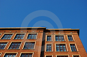 The Corner Of A Building Royalty Free Stock Images - Image: 13098549