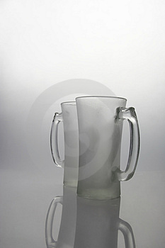 Frozen Mugs Royalty Free Stock Photography - Image: 1311667