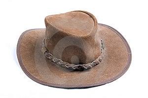 Brown Cowboys Hat Royalty Free Stock Photos - Image: 1312978