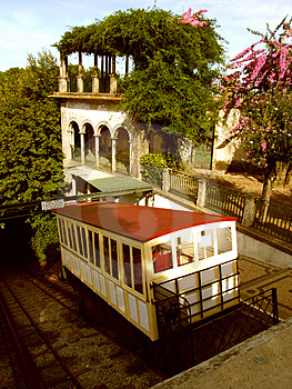 Stylish Water Funicular Royalty Free Stock Photos - Image: 1319108