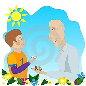 Easter Greeting Royalty Free Stock Images - Image: 13195999
