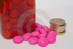 Custo Da Medicamentação Imagens de Stock - Imagem: 1322224