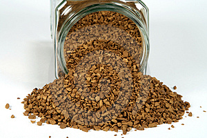 Instant Coffee Royalty Free Stock Images - Image: 1326159