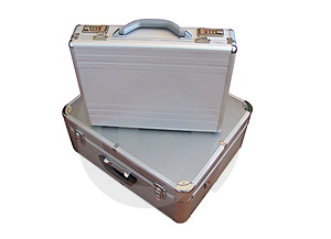 Two Suit-case Stock Images - Image: 1337314