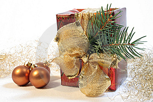 Christmas gift Free Stock Images