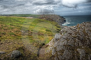 Landscape Of Cornwall Stock Photography - Image: 13334972