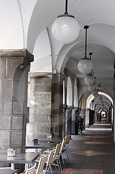 Arcades Stock Image - Image: 13362041
