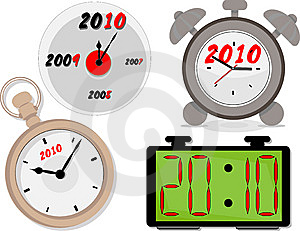 Clocks Stock Images - Image: 13393334