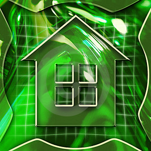 Home Icon Stock Image - Image: 1350081