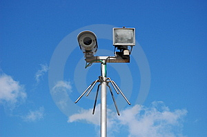 big brother privacy camera Stock Images