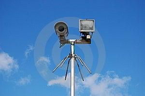 macchina fotografica di segretezza del fratello maggiore Immagini Stock