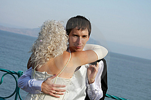 Happy Newly-married Couple Stock Photo - Image: 13550670
