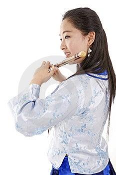Female Musician Stock Photo - Image: 13550770