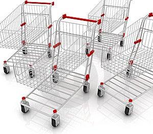 Shopping Carts Stock Photography - Image: 13551282