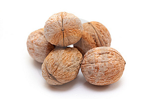 Walnuts Royalty Free Stock Images - Image: 13552799