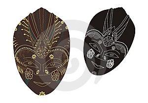 Traditional Mask Stock Photo - Image: 13553440