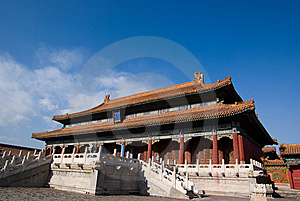Huang Ji Hall Royalty Free Stock Images - Image: 13554089