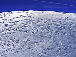 Blue Winter Plain Stock Images - Image: 13554994