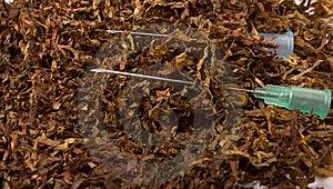 Tobacco Addiction Stock Image - Image: 13555761