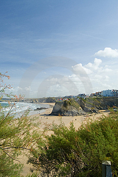 Cliffs Of The Beach Royalty Free Stock Images - Image: 13556039