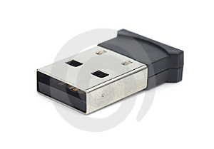 Micro USB Bluetooth WiFi Dongle Stock Image - Image: 13557311