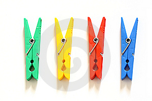 Olor Clothes-peg Royalty Free Stock Photos - Image: 13557478