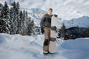 Snowboarder Stock Photography - Image: 13558062