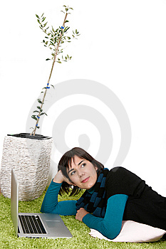 Dreaming Woman Stock Photography - Image: 13559752