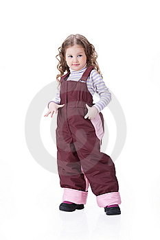 Children In Fashionable Clothing Royalty Free Stock Photo - Image: 13562275
