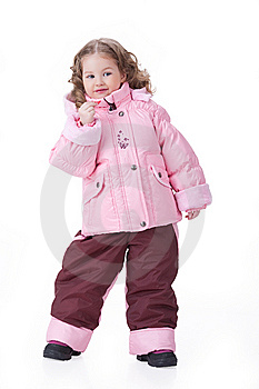 Girl In Fashionable Clothing Royalty Free Stock Images - Image: 13562299