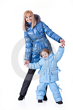 Mother And Daughter Stock Photos - Image: 13562373