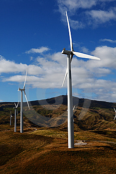Wind Turbines Stock Photos - Image: 13563203