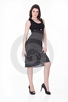 Young Woman In Fashionable Clothing Stock Photography - Image: 13564752