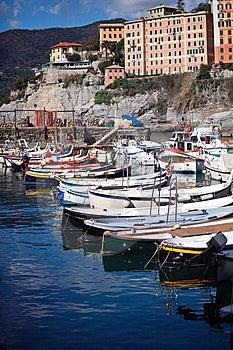 Boats - Camogli Stock Photos - Image: 13571763