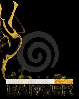 Smoke Danger Stock Photo - Image: 13571860