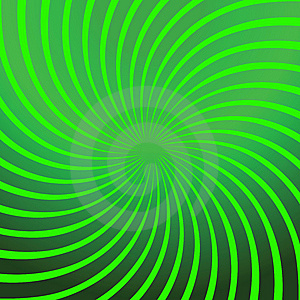 Twirl Green Abstract Stock Photography - Image: 13572172