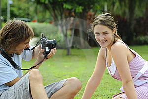 Which Camera? Royalty Free Stock Images - Image: 13572559