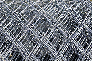Wire Fence Stock Photo - Image: 13573090
