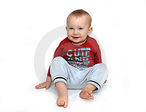 Happy Baby Boy Stock Photos - Image: 13573913